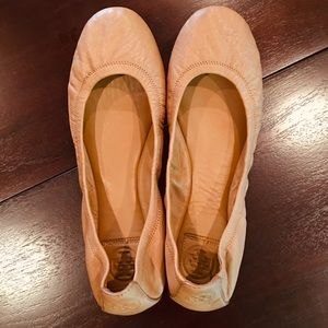 Tory Burch Soft Leather Ballet Flats